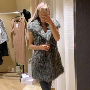 Beautiful fur vest